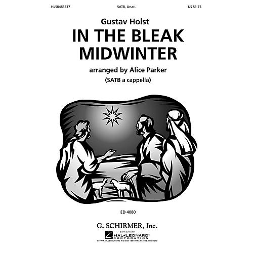 G. Schirmer In Bleak Midwinter (SSATB a cappella) SSATB A Cappella composed by Gustav Holst-thumbnail