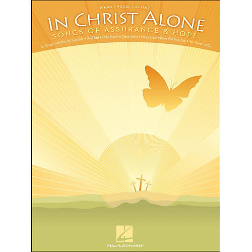 Hal Leonard In Christ Alone - Songs Of Assurance & Hope arranged for piano, vocal, and guitar (P/V/G)-thumbnail