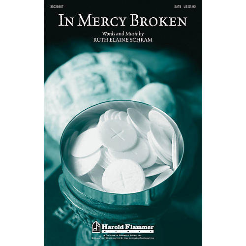 Shawnee Press In Mercy Broken SATB composed by Ruth Elaine Schram-thumbnail