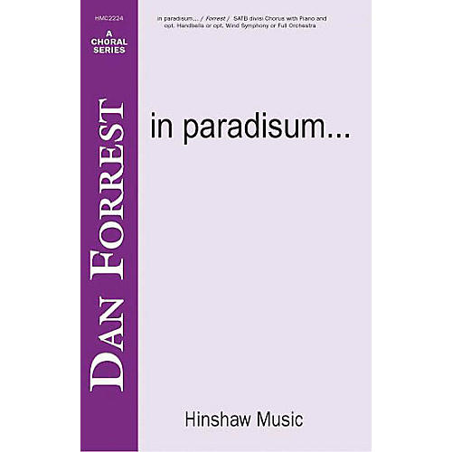 Hinshaw Music In Paradisum SSAATTBB composed by Dan Forrest-thumbnail