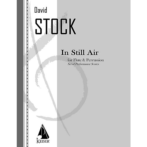 Lauren Keiser Music Publishing In Still Air for Flute and Percussion - Two Performance Scores LKM Music Series Composed by David Stock-thumbnail