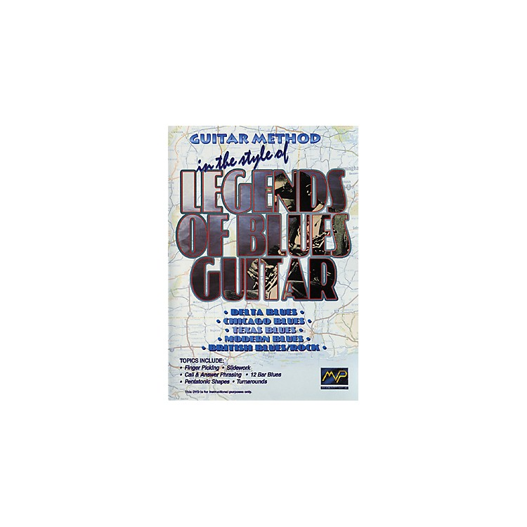 MVPIn The Style Of Legends of Blues Guitar (DVD)