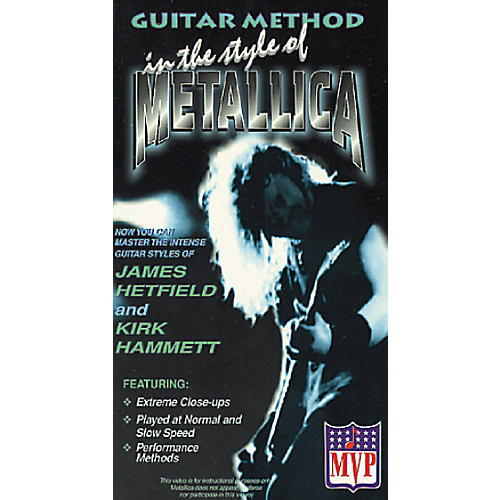 MVP In The Style Of Metallica VHS