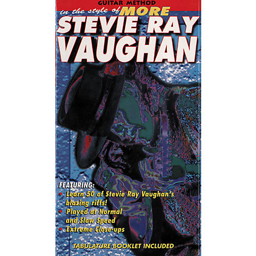 MVP In The Style Of More Stevie Ray Vaughan VHS-thumbnail