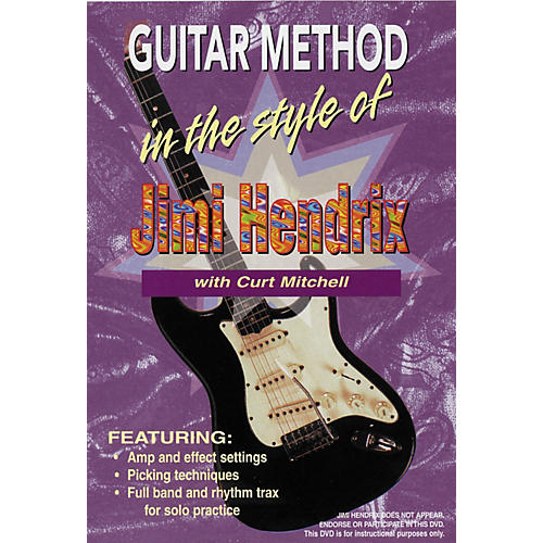 MVP In The Style of Jimi Hendrix DVD