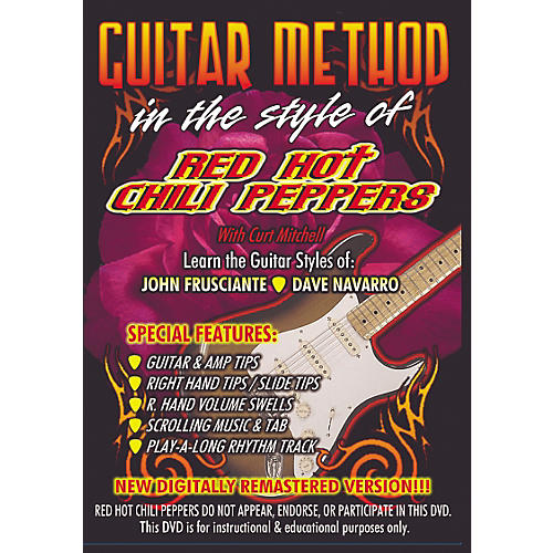 MVP In The Style of Red Hot Chili Peppers Guitar (DVD)