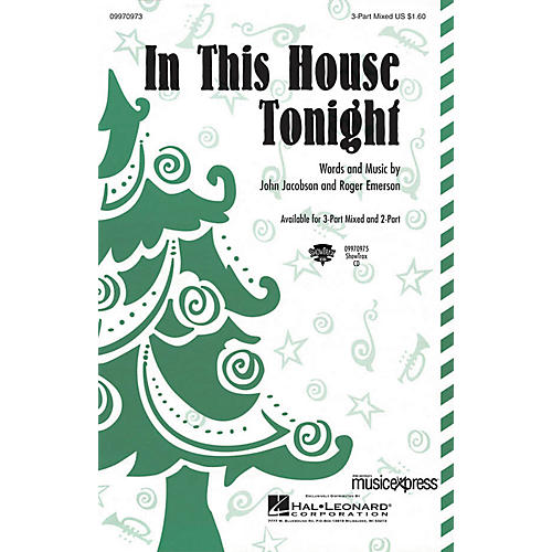 Hal Leonard In This House Tonight 3-Part Mixed Composed by John Jacobson/Roger Emerson-thumbnail