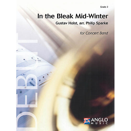 Anglo Music Press In the Bleak Midwinter (Grade 2 - Score Only) Concert Band Level 2 Arranged by Philip Sparke-thumbnail