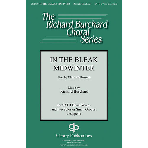 Gentry Publications In the Bleak Midwinter SATB DV A Cappella composed by Richard Burchard-thumbnail