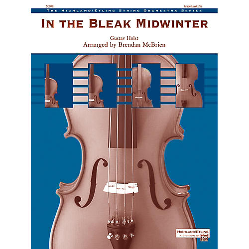 Alfred In the Bleak Midwinter String Orchestra Grade 2.5 Set-thumbnail