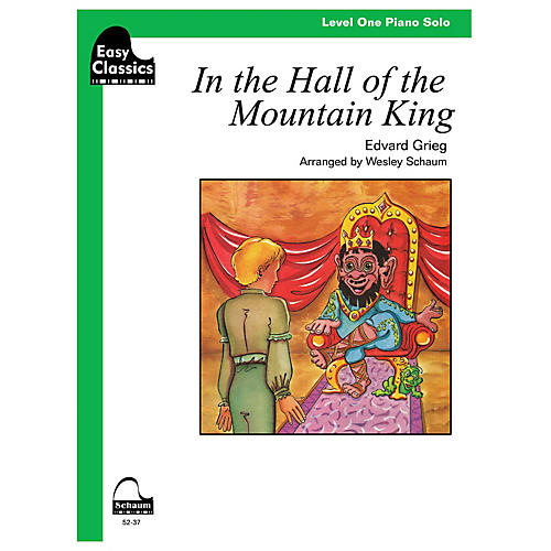 SCHAUM In the Hall of the Mountain King Educational Piano Series Softcover