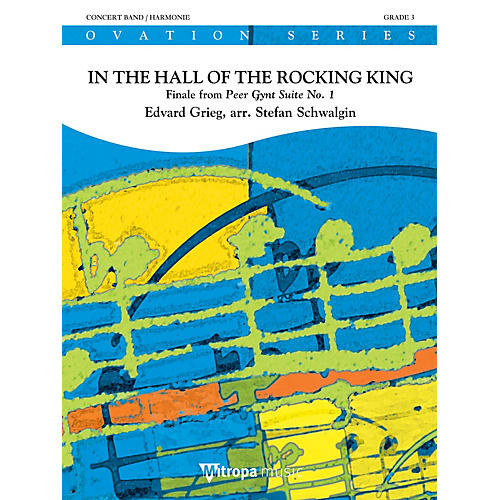 Mitropa Music In the Hall of the Rocking King Concert Band Level 3 Arranged by Stefan Schwalgin-thumbnail
