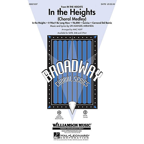 Hal Leonard In the Heights (Choral Medley) SATB arranged by Mac Huff-thumbnail