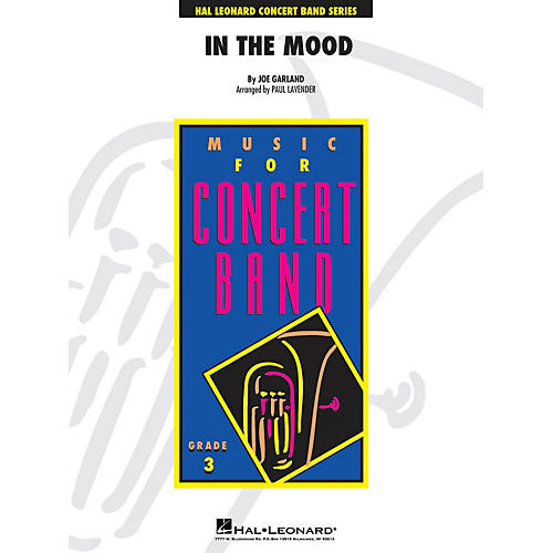 Hal Leonard In the Mood - Young Concert Band Level 3 arranged by Paul Lavender