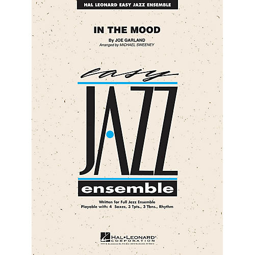 Hal Leonard In the Mood Jazz Band Level 2 by Glenn Miller Orchestra Arranged by Michael Sweeney-thumbnail