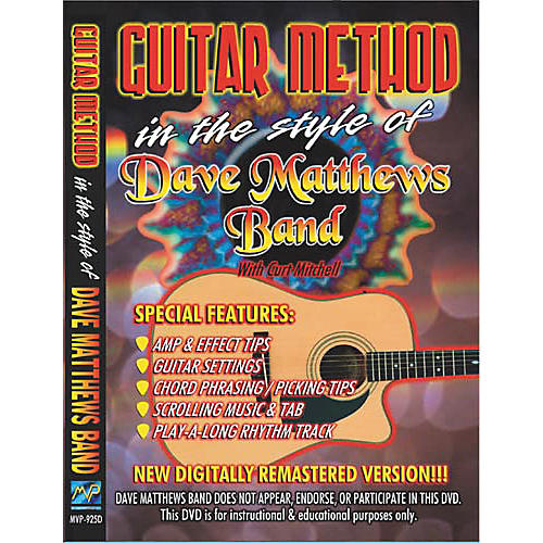 MVP In the Style of Dave Matthews Band (DVD)