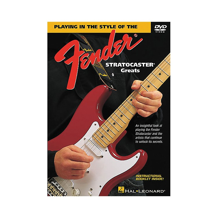 Hal LeonardIn the Style of Stratocaster Greats (DVD)