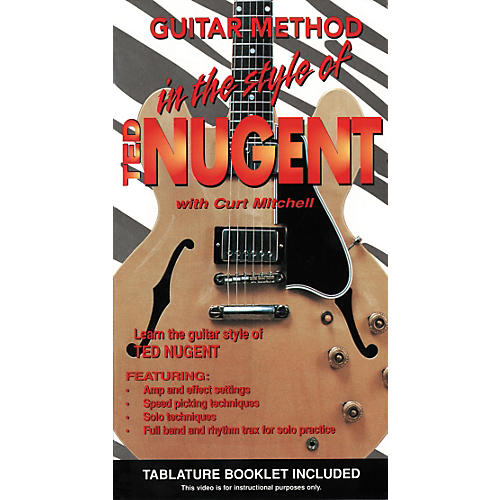 MVP In the Style of Ted Nugent VHS