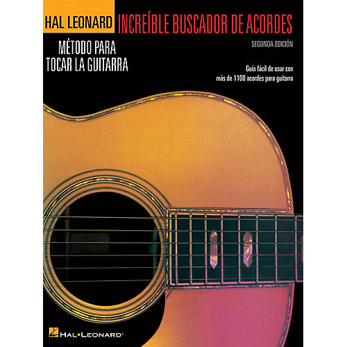 Hal Leonard Incredible Chord Finder - Spanish Edition, 2nd Edition Guitar Method Series Softcover Written by Various