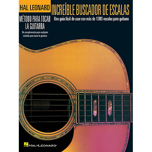 Hal Leonard Incredible Scale Finder - Spanish Edition Guitar Method Series Softcover Written by Various-thumbnail