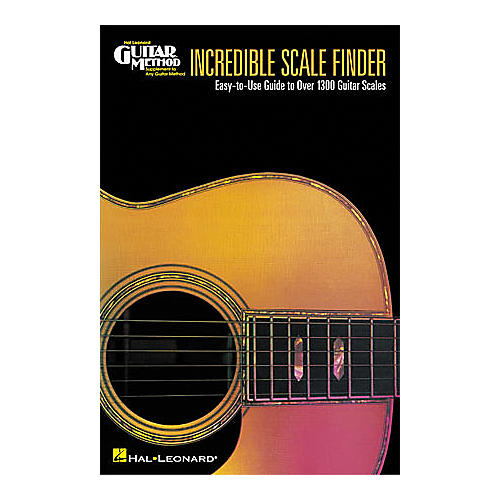 Hal Leonard Incredible Scale Finder Book