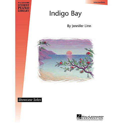Hal Leonard Indigo Bay Piano Library Series by Jennifer Linn (Level Inter)-thumbnail