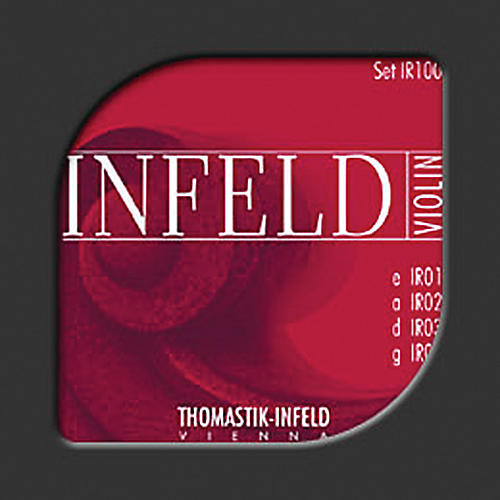 Thomastik Infeld Red Series 4/4 Size Violin Strings 4/4 Size Gold-Plated Steel E