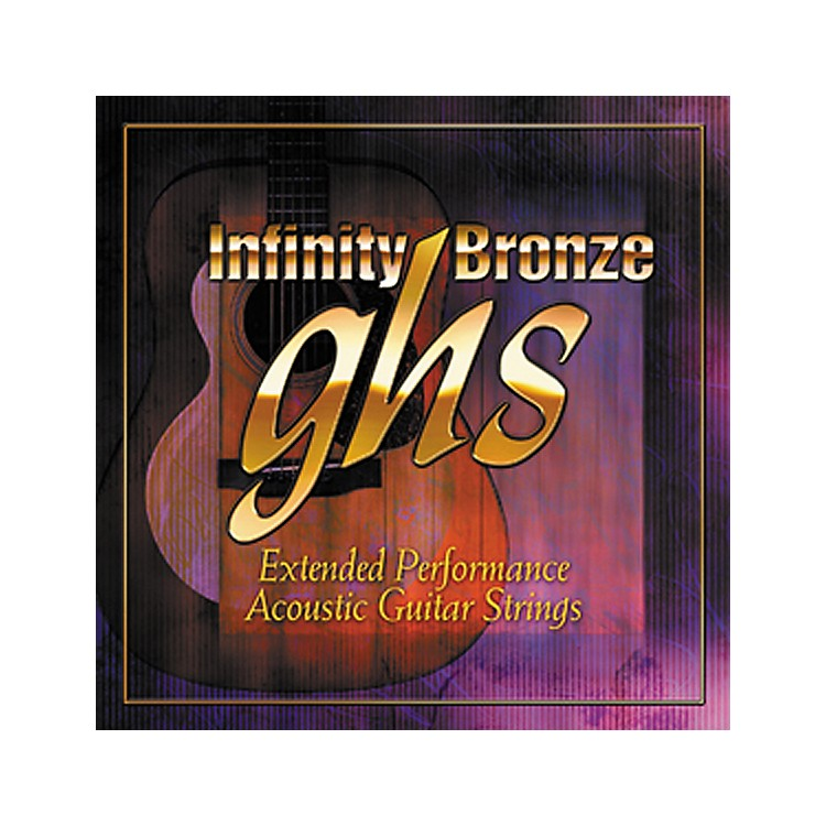 GHSInfinity Bronze Acoustic Extra Light Guitar Strings