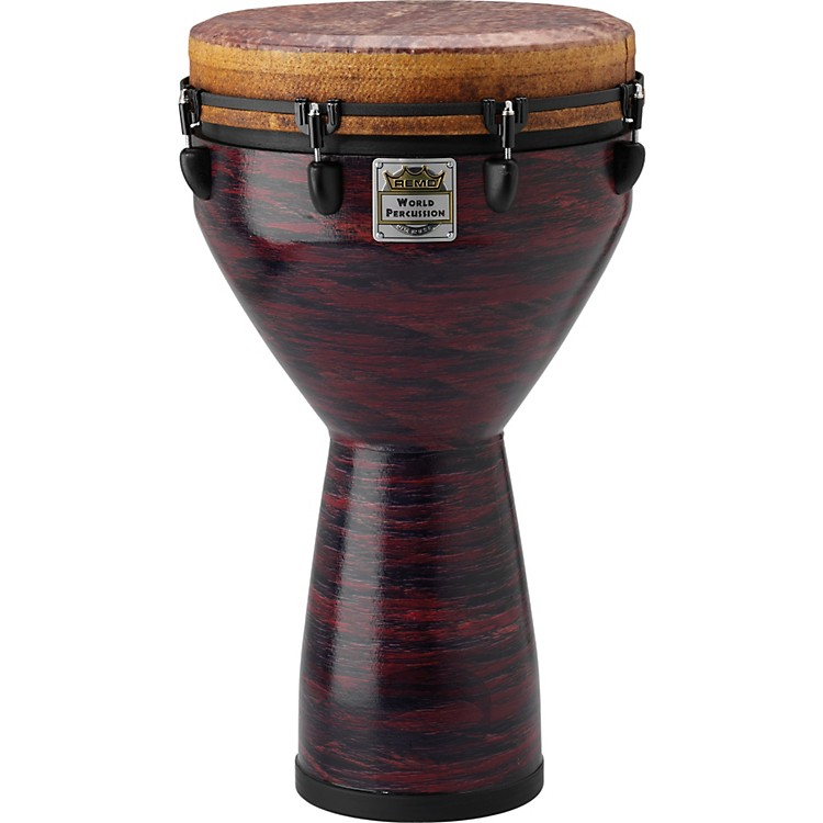 Remo Infinity Mondo Djembe Choco Red 14 inch