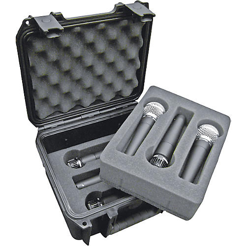SKB Injection-Molded Microphone Case for 6 Mics-thumbnail