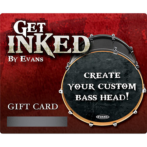 Evans Inked by Evans Custom Bass Head Gift Card