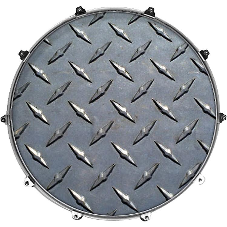 EvansInked by Evans Texture Series Bass Drumhead24 InchWOOD 2