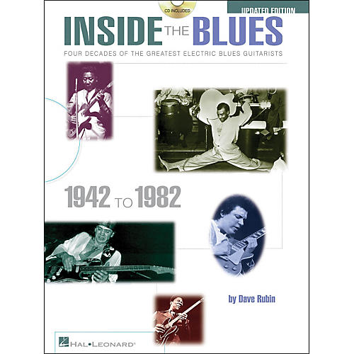 Hal Leonard Inside The Blues 1942-1982 Book/CD Updated Edition