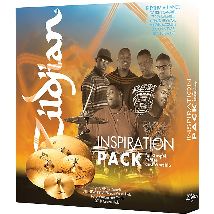 ZildjianInspiration Cymbal Pack