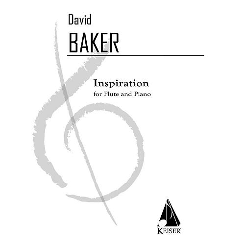 Lauren Keiser Music Publishing Inspiration (Flute with Piano Accompaniment) LKM Music Series Composed by David Baker-thumbnail