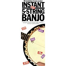 Music Sales Instant 5 String Banjo