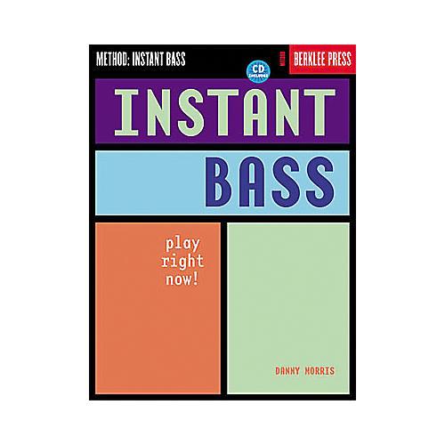 Hal Leonard Instant Bass Book/CD