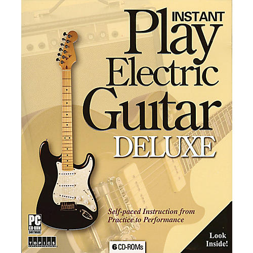 Music Sales Instant Play Electric Guitar Deluxe Music Sales America Series CD-ROM-thumbnail