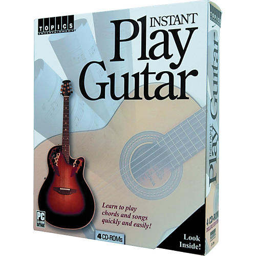 Topics Entertainment Instant Play Guitar (CD-ROM)-thumbnail
