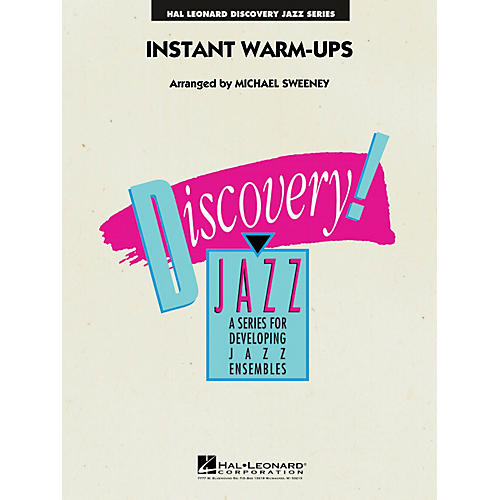 Hal Leonard Instant Warm-Ups Jazz Band Level 1-2 Composed by Michael Sweeney-thumbnail