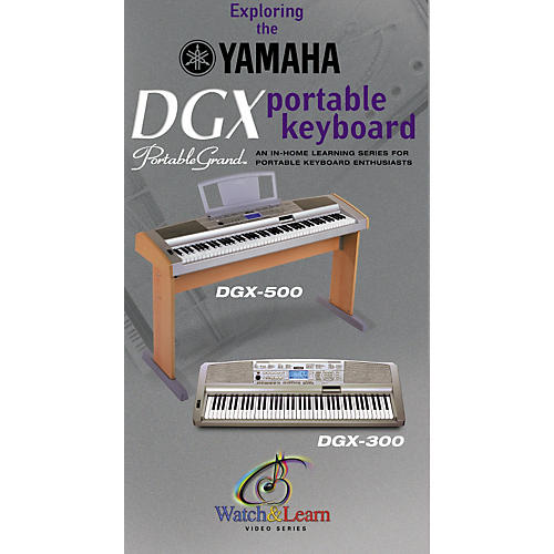 Yamaha Instructional Video for DGX500/300-thumbnail
