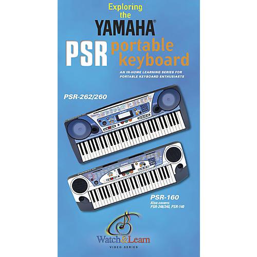 Yamaha Instructional Video for PSR-160, PSR-170, PSR-260 and PSR-262