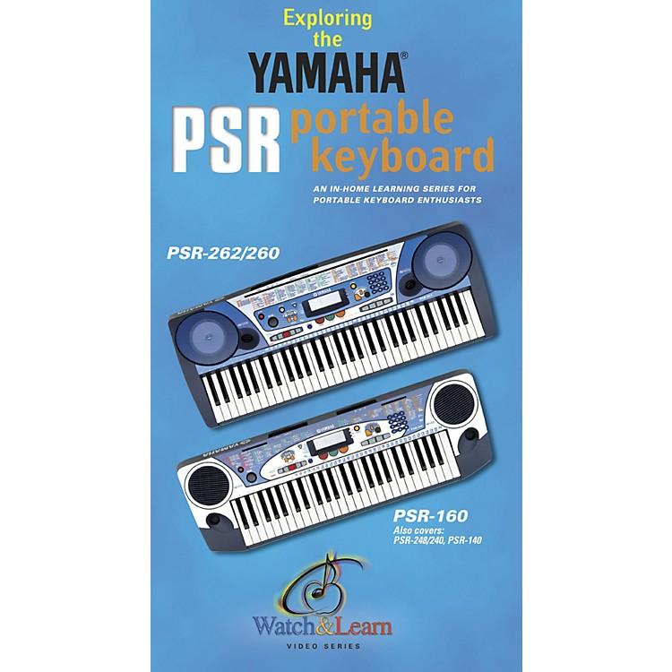 Yamaha Instructional Video for PSR-160, PSR-170, PSR-260 and PSR-262