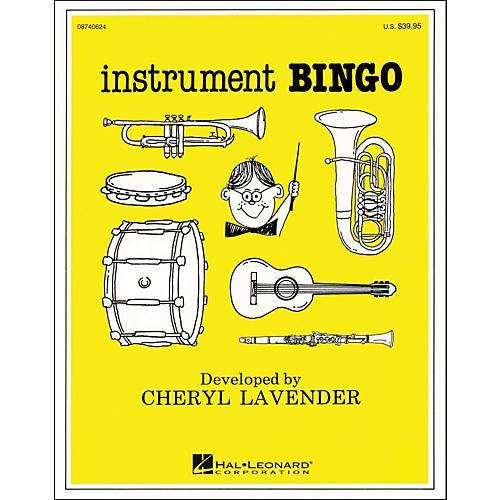 Hal Leonard Instrument Bingo Instrument Bingo Cd Pak