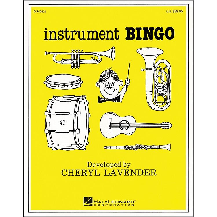 Hal LeonardInstrument BingoInstrument Bingo Cd Pak