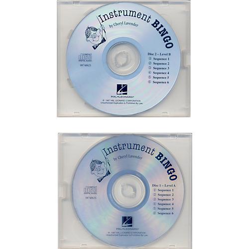 Hal Leonard Instrument Bingo Replacement Cd Set Of 2