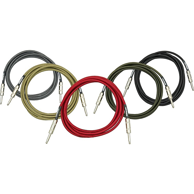 DiMarzio Instrument Cable Military Green 21 Foot