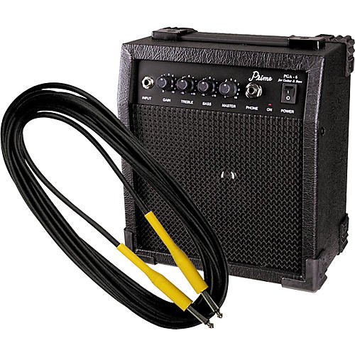 Gear One Instrument Cable & Prime PGA-6 Practice Amp Upside Down Package