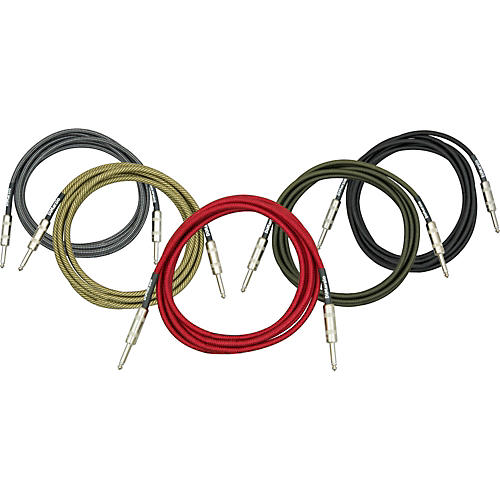 DiMarzio Instrument Cable Red 18 ft.