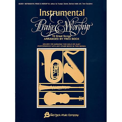 Fred Bock Music Instrumental Praise & Worship Bb (Arr. Fred Bock)